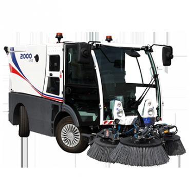 Dulevo-2000-Macchina spazzatrice stradalecon motore diesel