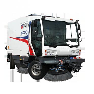 Dulevo-6000-Spazzatrici stradali diesel pista variabile da 1300 a 3500mm