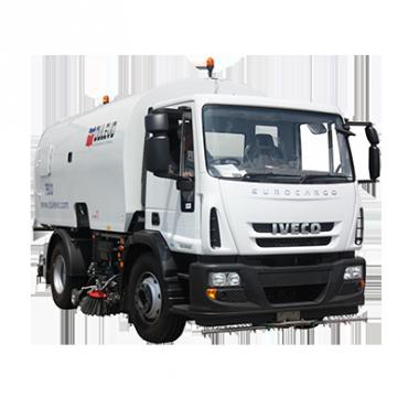 Dulevo-7500-pazzatrice stradale diesel conpista di pulizia da 2200mm
