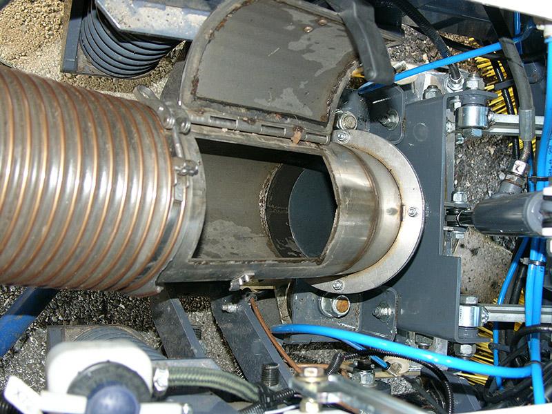 Sistema di aspirazione Dulevo-850-Macchina spazzatrice stradalecon motore diesel